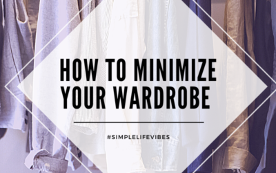 Minimize Your Wardrobe: Could you live on 30 pieces of clothing?