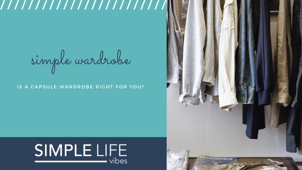 minimize your wardrobe