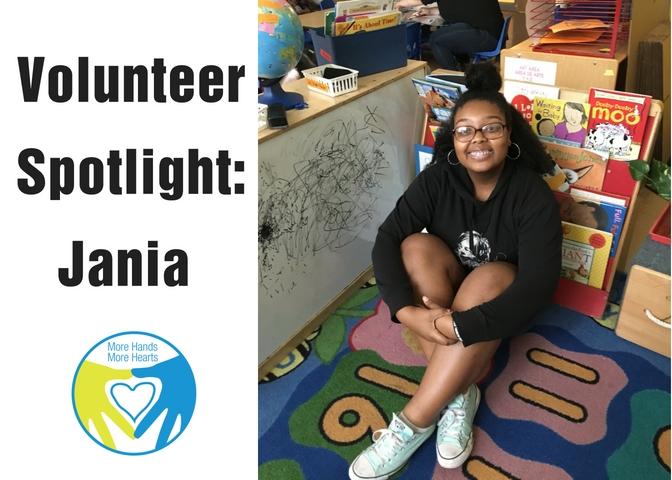 Volunteer Spotlight Jania