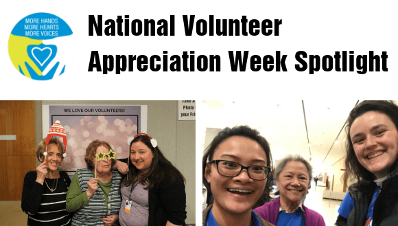 National Volunteer Appreciation Week Spotlight Banner Image