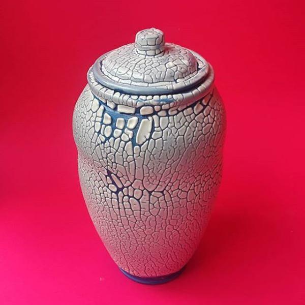 Ceramic Jar by Evan Hagan