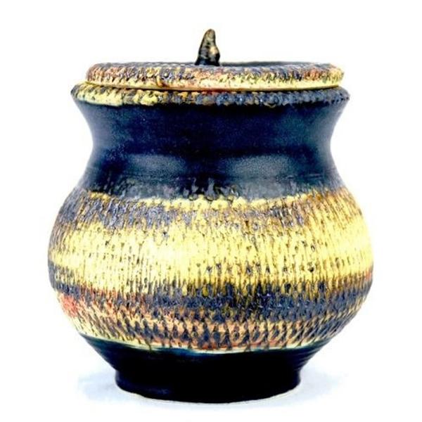 Ceramic Jar by Jaleh Fazel