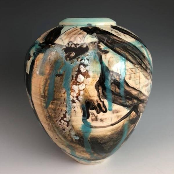 Ceramic Jar by Kyle Lee