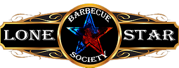 Lone Star Barbecue Society logo with Texas star