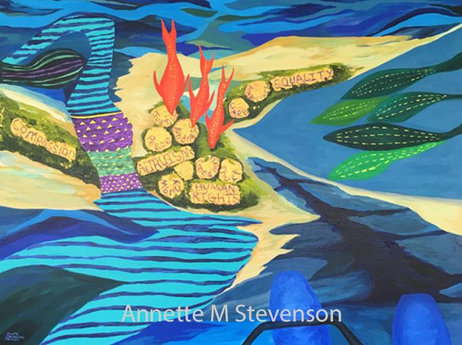 Waterscape, Waterscene, underwater, diving, scuba, ocean, AnnetteMStevenson,