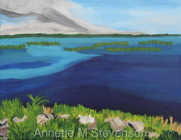 WaterScenes, WaterSeries, Waterscapes, Lake Toho, Kissimmee, Florida