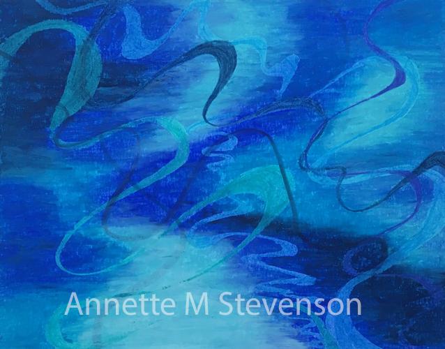 AnnetteMStevenson, oil pastel, marker, pencil,