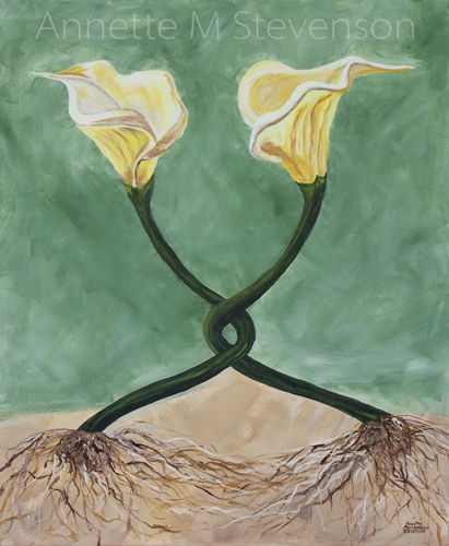 relationship, Calla Lilies, growth, individuals,