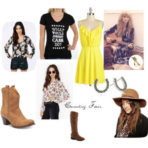 Country Fest look Inspired by Taylor Swift