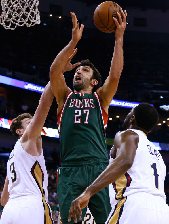 Center Zaza Pachulia Joins Dallas Mavericks