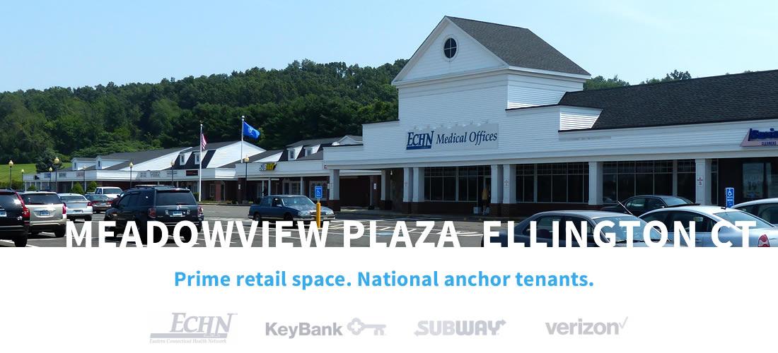 Meadowview Plaza, Ellington, CT