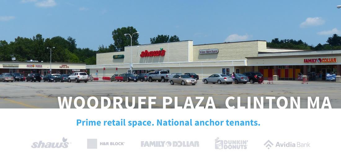Woodruff Plaza, Clinton, MA