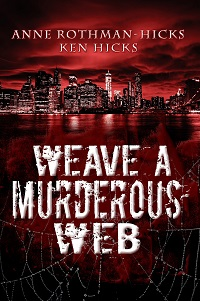 rev - WEAVE A MURDEROUS WEB 200x301