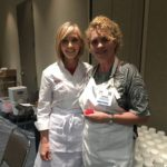 Denise Everett and Mich Turner at The Americas Cake and Sugarcraft Fair, Orlando, Florida