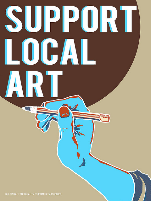 support local art