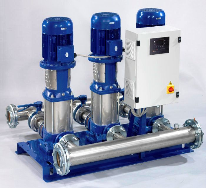 DCW Booster Pumps
