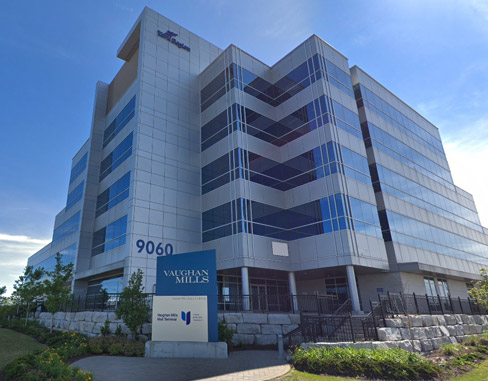 Region of York Office Building at 9060 Jane St, Vaughan