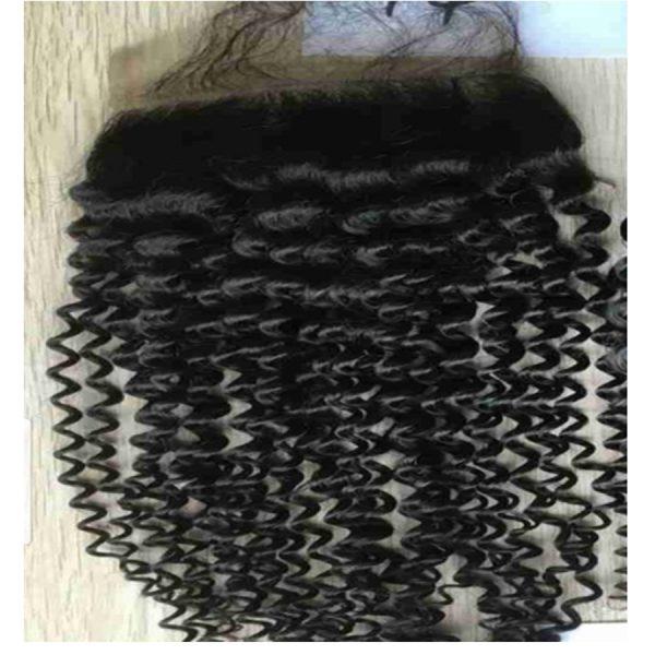 Hunni B Natural Jeri Curl Closure