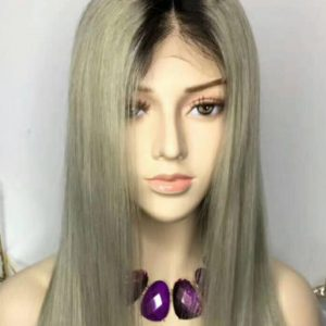 Silver Full Lacefront Unit