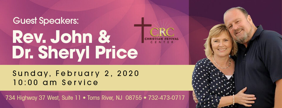 Rev. John & Dr. Sheryl Price