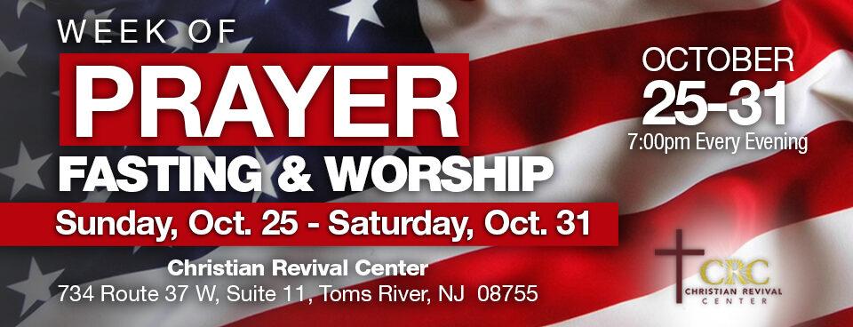Week of Prayer, Fasting and Worship