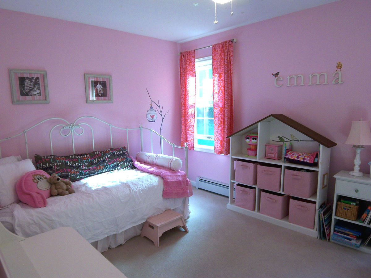 A Non-Princess Pink Room