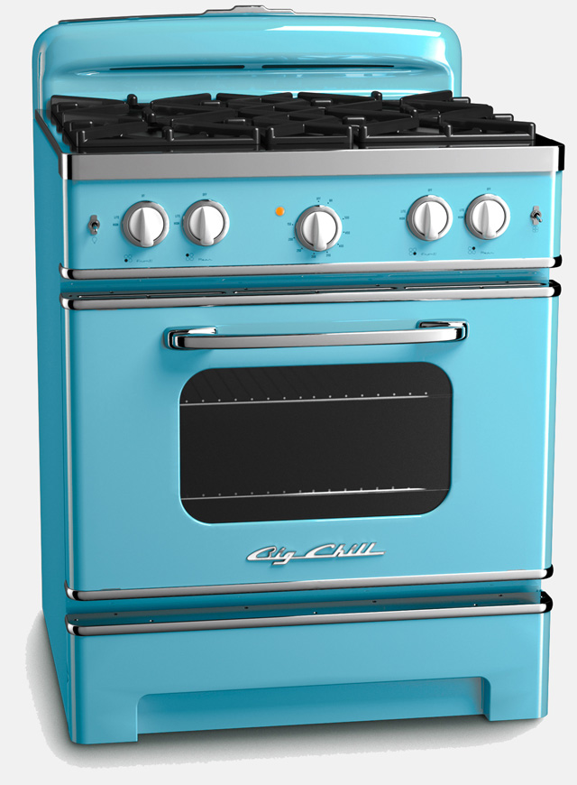 Bold and Beautiful Kitchen Appliances