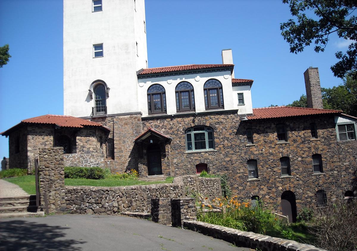 The Castle on Talcott Mountain