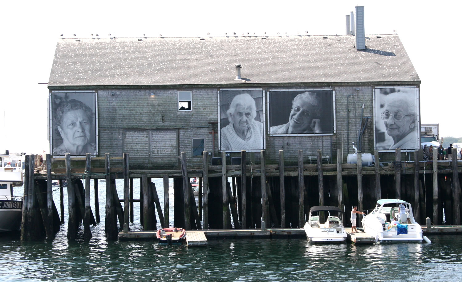 Art on the Pier at P-Town