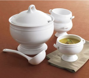 Crate and Barrel Soup Tureen