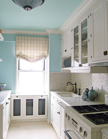 painted kitchen ceiling