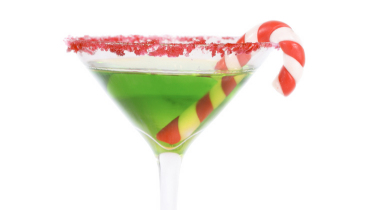 Peppermint Holiday Cocktails (plus a gift idea)