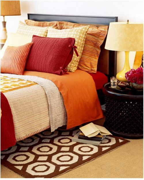Red Bedding Accessories