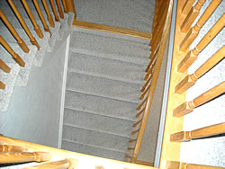 ugly stairs before
