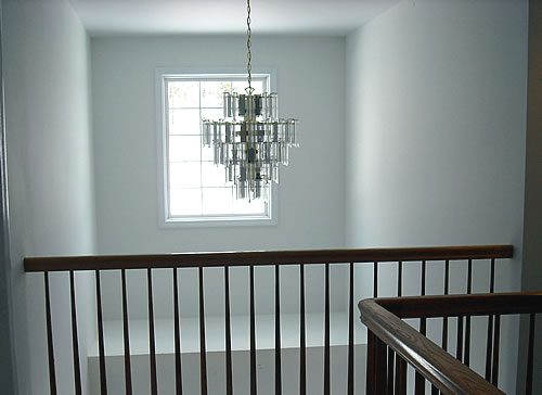 foyer light before