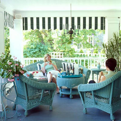 coastal living porch design