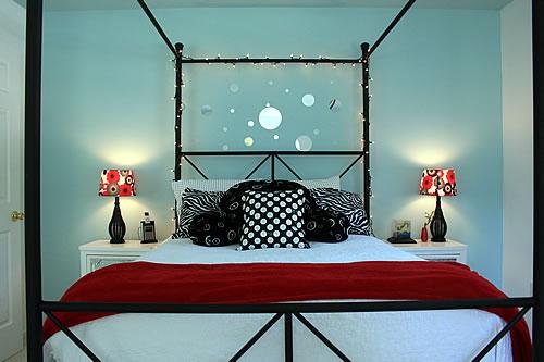 A Blue Tween Room for Girls