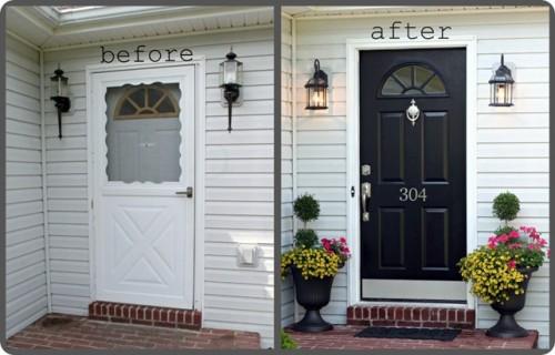 320 Sycamore front door