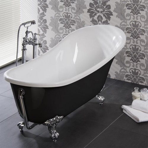 free standing claw foot tub