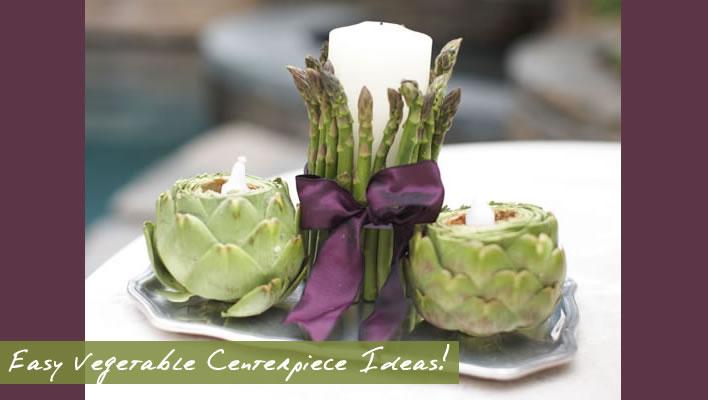 Easy Unique Vegetable Centerpiece Ideas