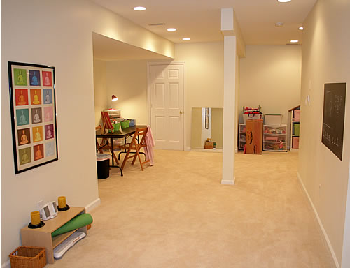 basement after