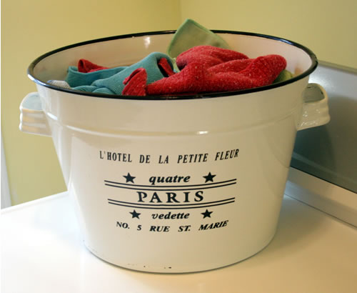 microfiber towel bin pail