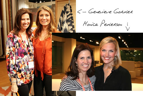 Susan Jensen Smith with Monica Pederson and Genevieve Gorder