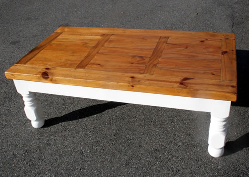 farm coffee table after