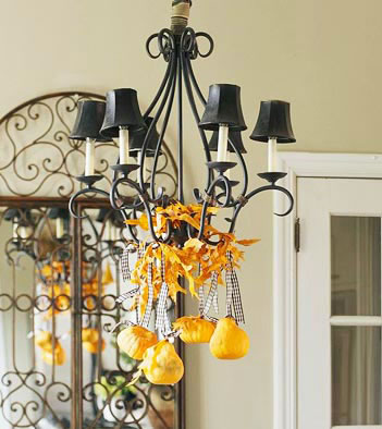 Hanging Centerpieces for Fall