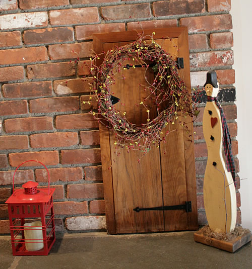 elf door decor