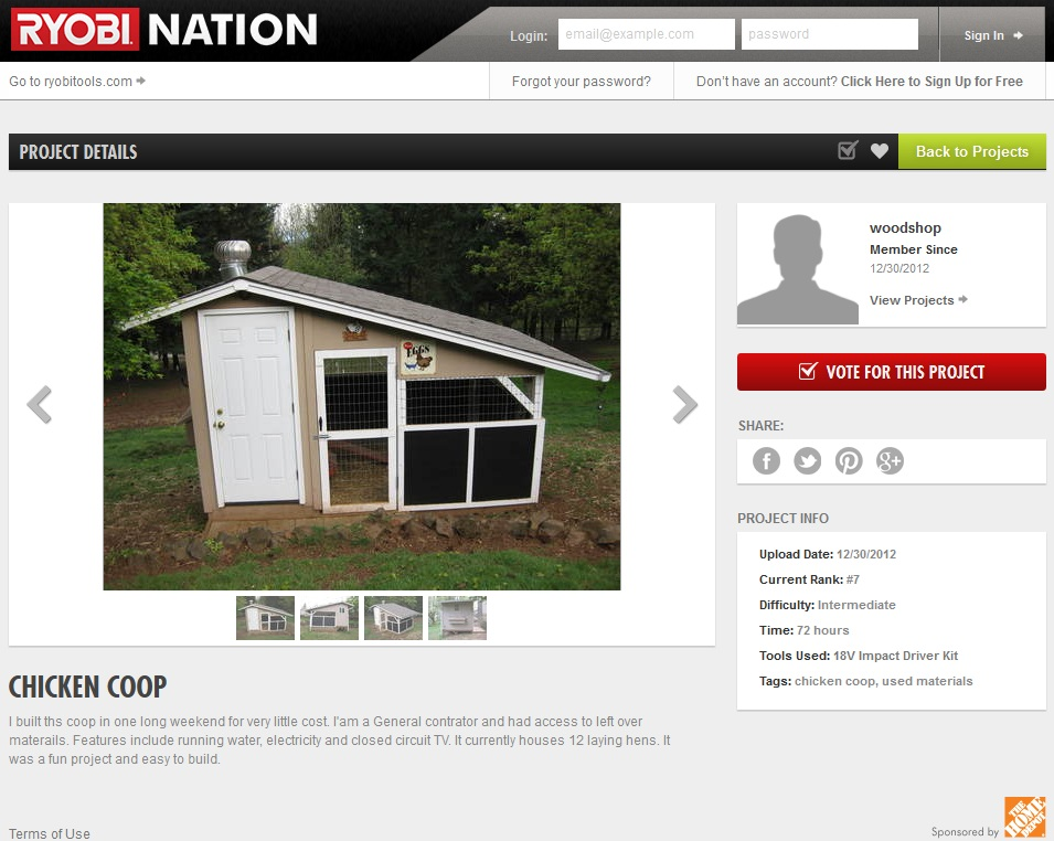 Join the Ryobi Nation (and win!)