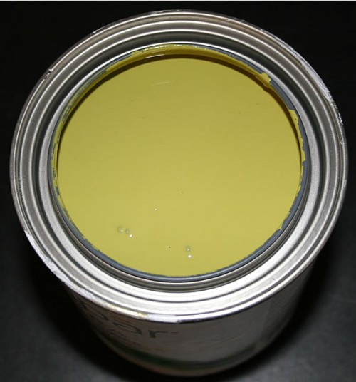 pesto green paint