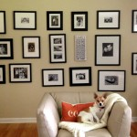 DIY Photography Feature Wall