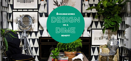 housing works design on a dime event
